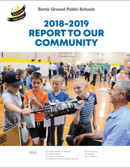 Cover of 2018-19 Community Report