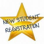 New student registration star